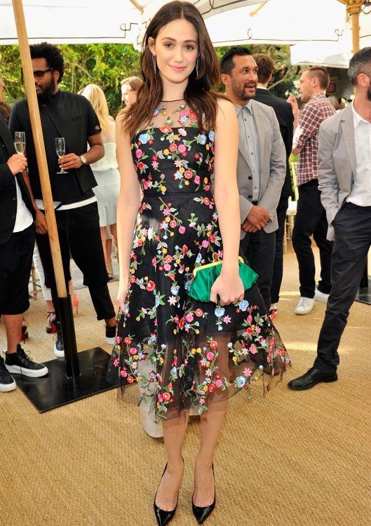 Emmy Rossum at the 2013 CFDA/Vogue Fashion Fund Event