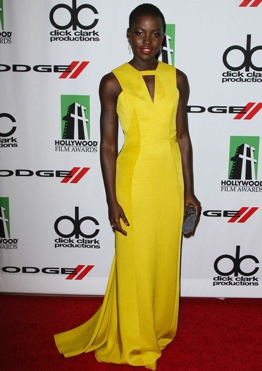 Lupita Nyong'o at the 17th Annual Hollywood Film Awards