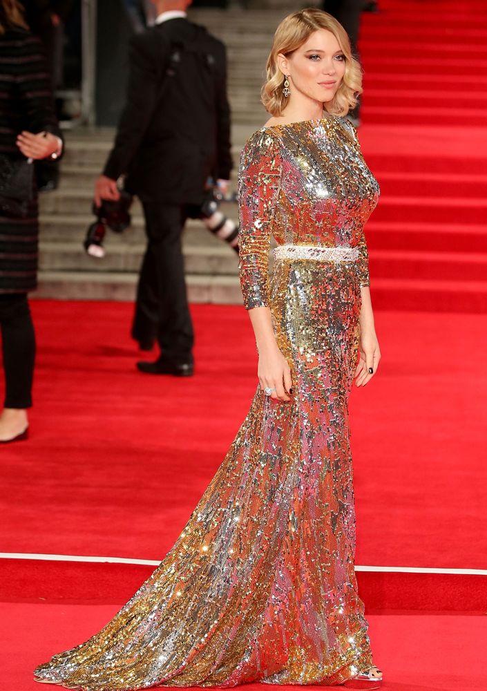 Lea seydoux bond dress style