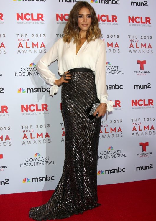Jessica Alba at the 2013 NCLR ALMA Awards