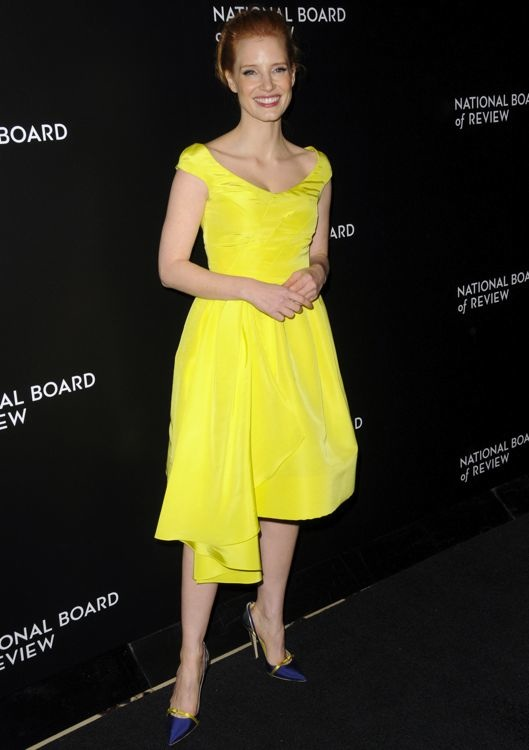 Jessica Chastain at the 2014 National Board of Review Awards Gala