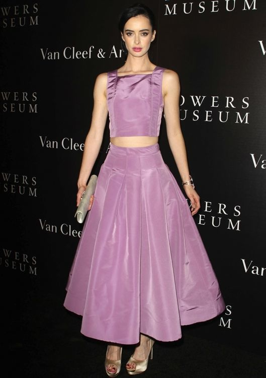 Krysten Ritter at A Quest for Beauty: The Art of Van Cleef & Arpels Event