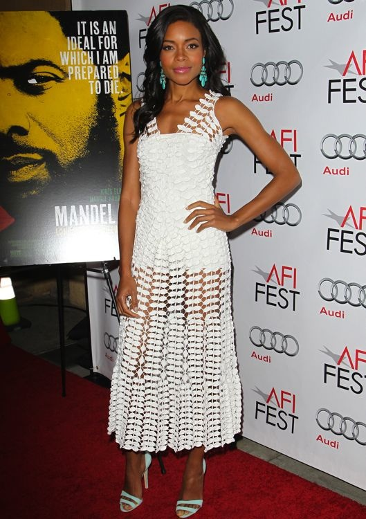 Naomie Harris at the AFI FEST 2013 Premiere of Mandela: Long Walk to Freedom