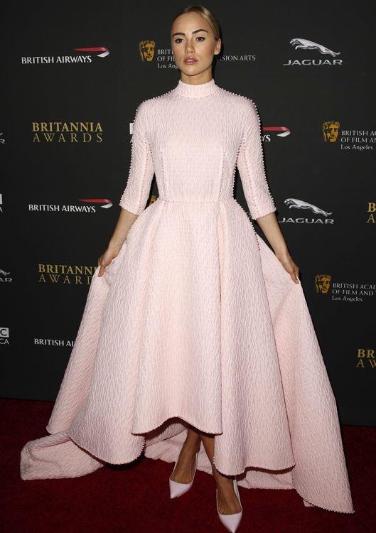 Suki Waterhouse at the 2013 BAFTA Los Angeles Britannia Awards