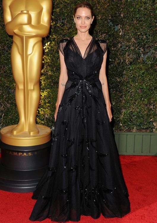 Angelina Jolie at the Academy of Motion Picture Arts and Sciences' 2013 Governors Awards
