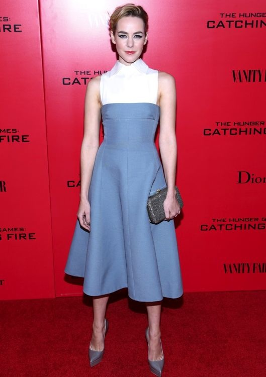 Jena Malone at the New York Premiere of The Hunger Games: Catching Fire