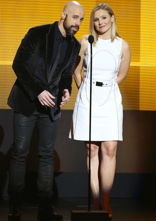 Kristen Bell at the 2013 American Music Awards