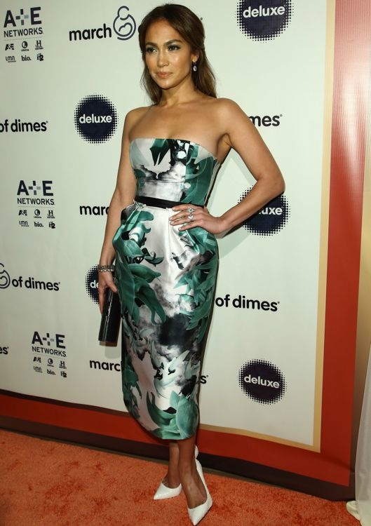 Jennifer Lopez at the March of Dimes Celebration of Babies Luncheon