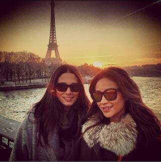 Jessica Gomes YOLOs in Paris