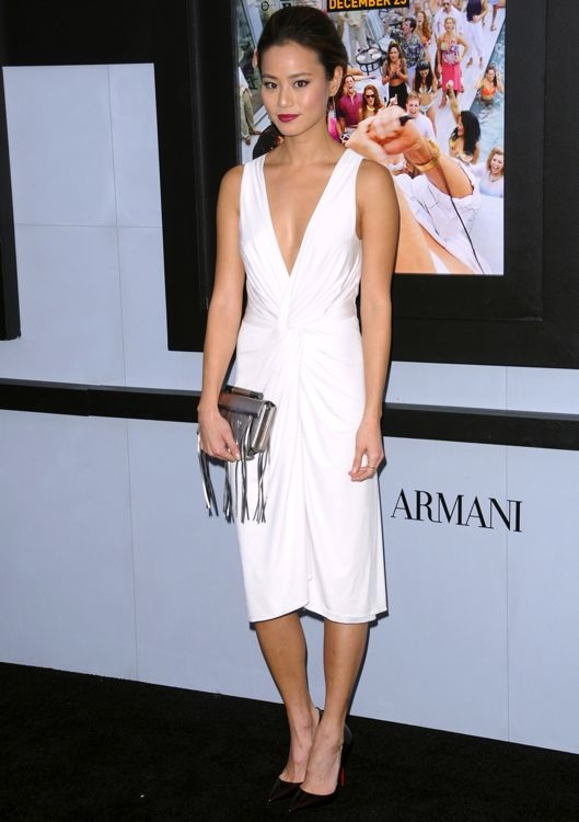 Jamie Chung at the New York Premiere of The Wolf of Wall Street