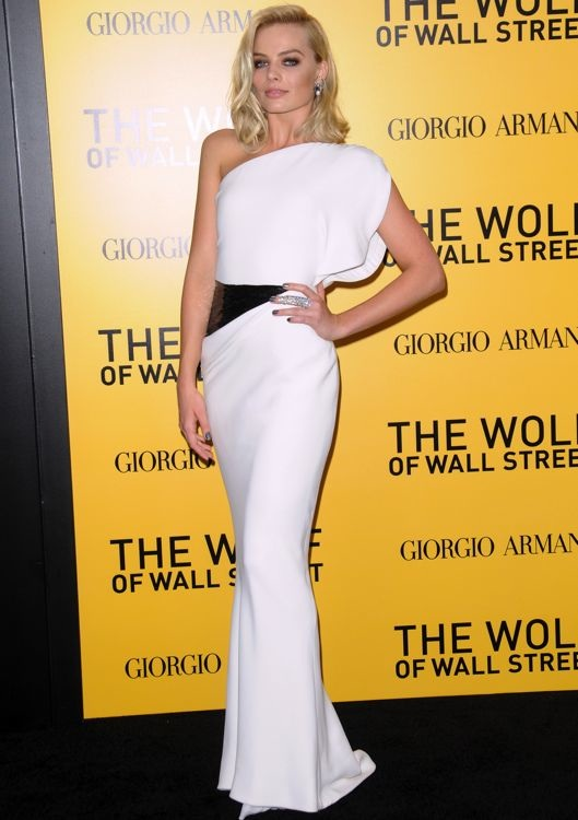 Margot Robbie at the New York Premiere of The Wolf of Wall Street