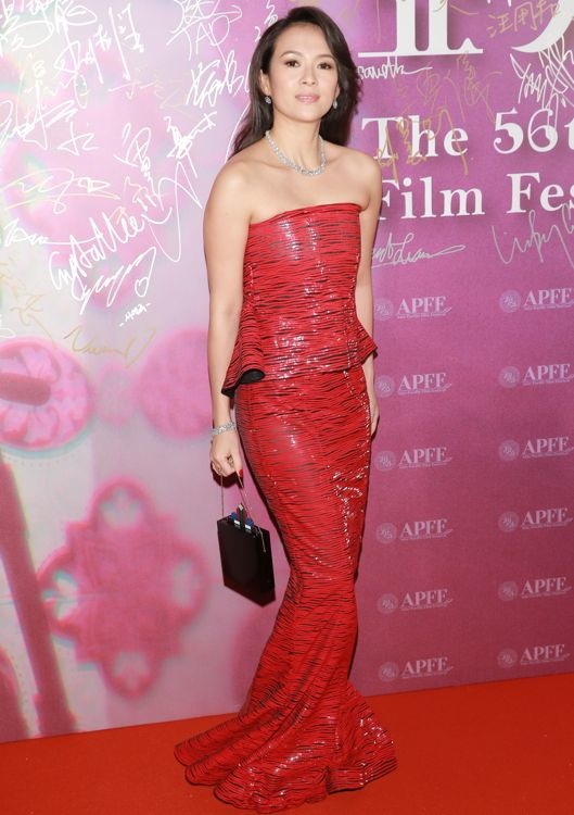Zhang Ziyi at the 56th Asia-Pacific Film Festival Awards Ceremony