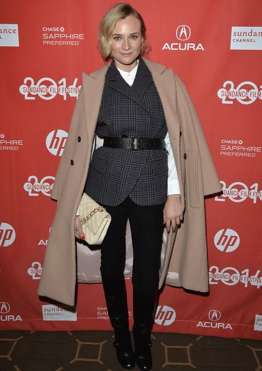 Diane Kruger at the 2014 Sundance Film Festival Premiere of The Better Angels