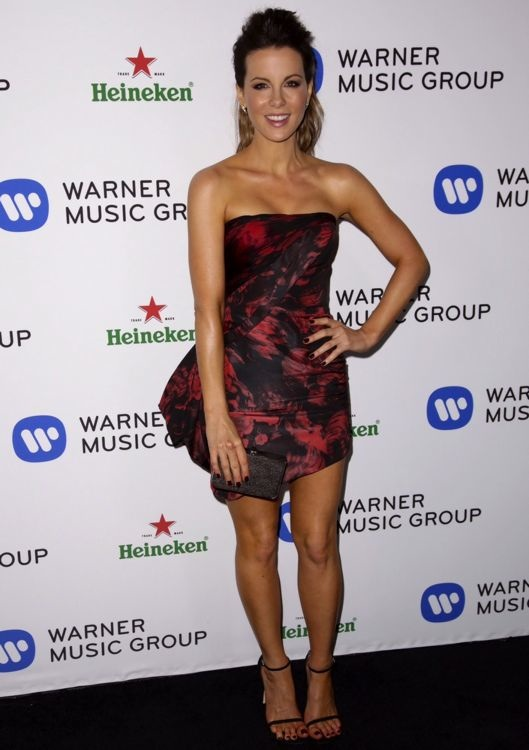 Kate Beckinsale at the Warner Music Group Annual Grammy Celebration