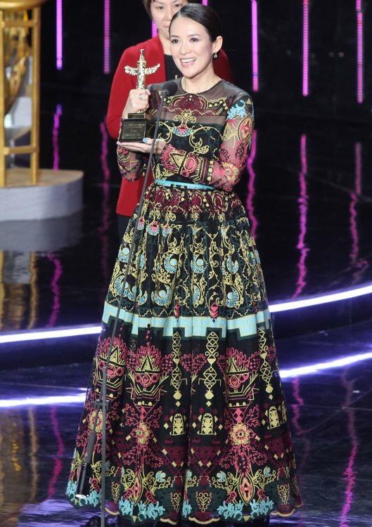 Zhang Ziyi at the 15th China Huabiao Film Awards