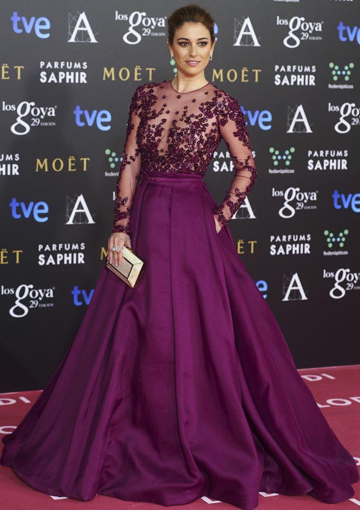 Blanca Suárez at the 2015 Goya Awards