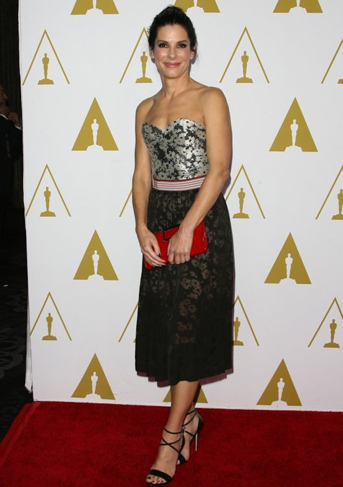 Sandra Bullock at the 86th Academy Awards Nominees Luncheon