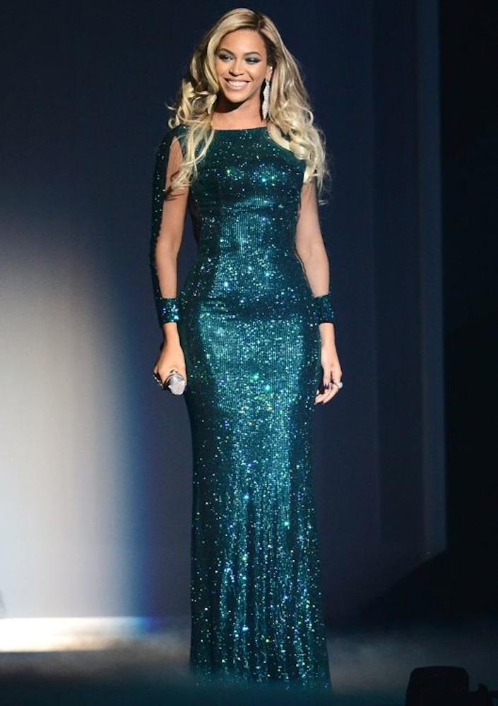 Beyoncé at the BRIT Awards 2014