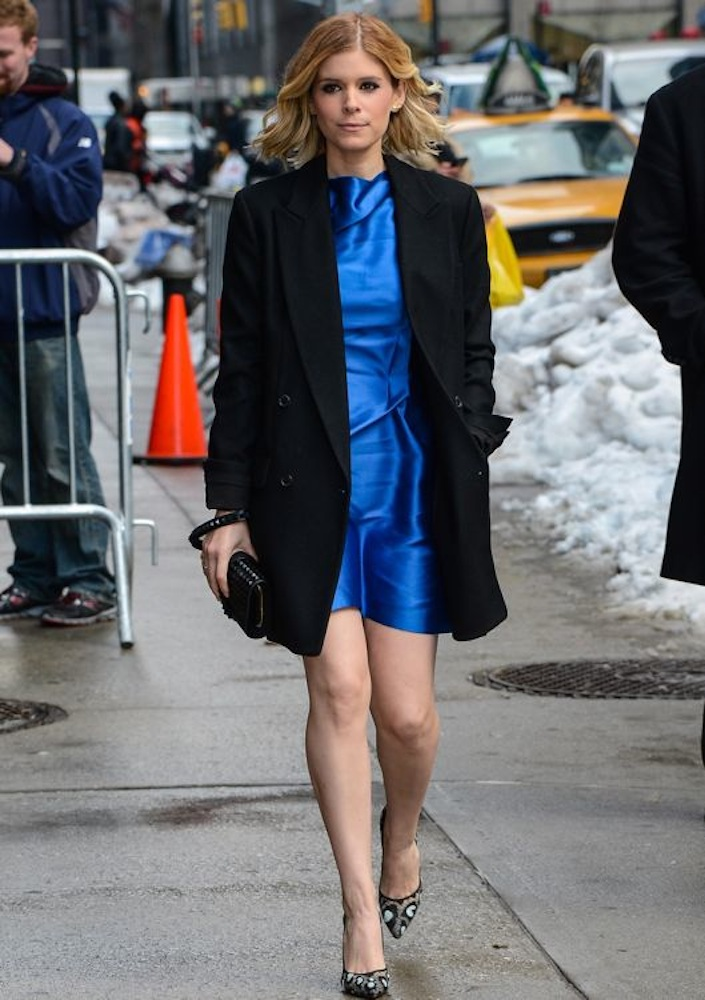 Kate Mara Appearing on the Late Show with David Letterman