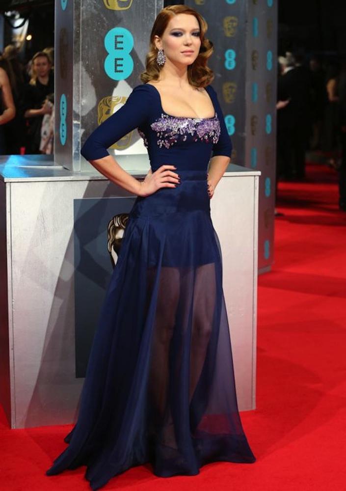 Léa Seydoux at the 2014 BAFTA Awards