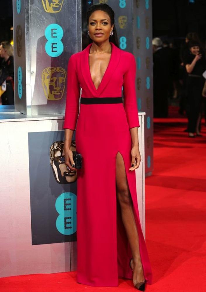 Naomie Harris at the 2014 BAFTA Awards
