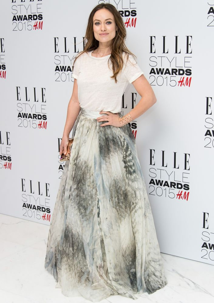 Olivia Wilde at the 2015 ELLE Style Awards