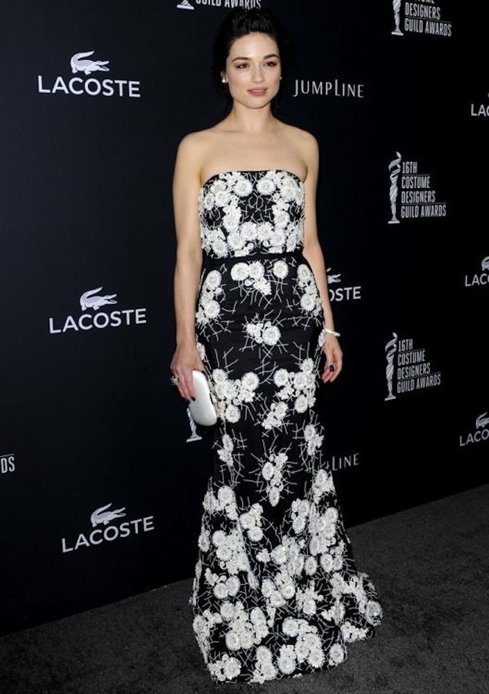 Crystal Reed at the 16th Annual Costume Designers Guild Awards