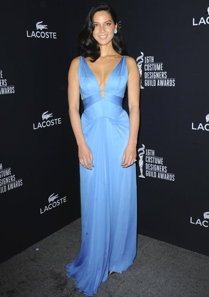 Olivia Munn at the 16th Annual Costume Designers Guild Awards