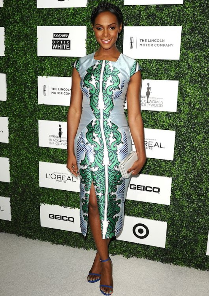 Tika Sumpter at the 7th Annual ESSENCE Black Women in Hollywood Luncheon