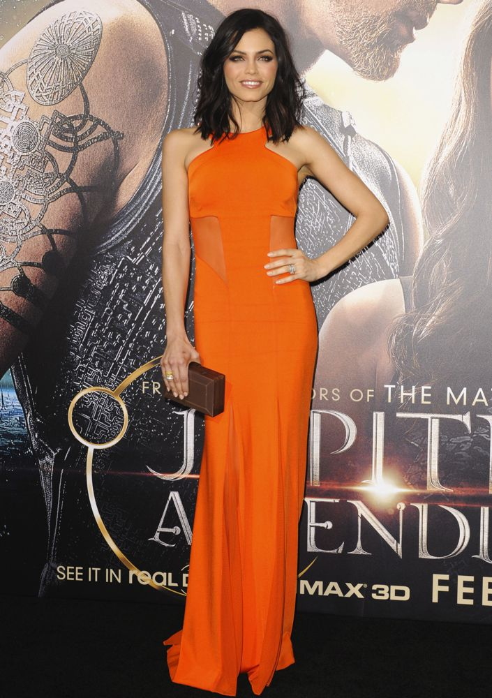 Jenna Dewan Tatum at the Los Angeles Premiere of Jupiter Ascending
