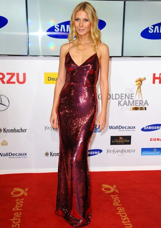 Gwyneth Paltrow at the 49th Golden Camera Awards