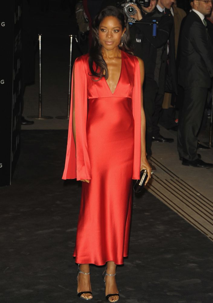 Naomie Harris at the Alexander McQueen: Savage Beauty Opening Night Gala