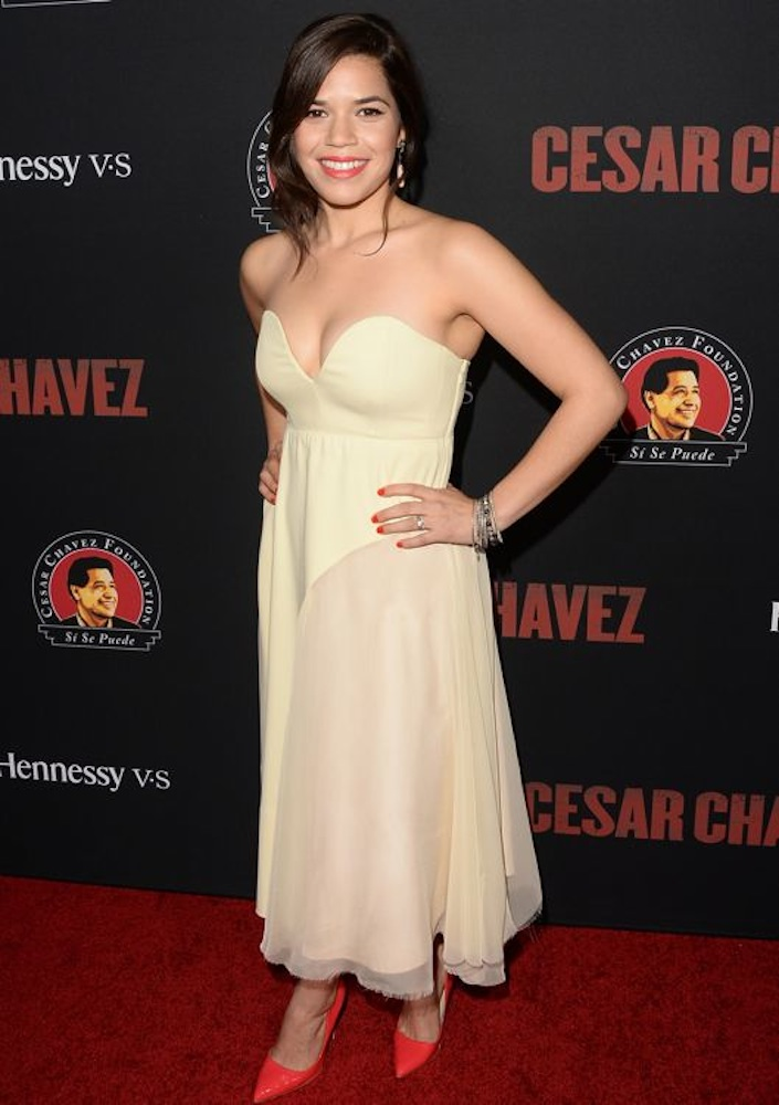 America Ferrera at the Los Angeles Premiere of Cesar Chavez