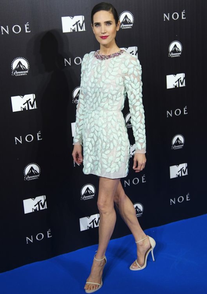 Jennifer Connelly at the Madrid Premiere of Noah