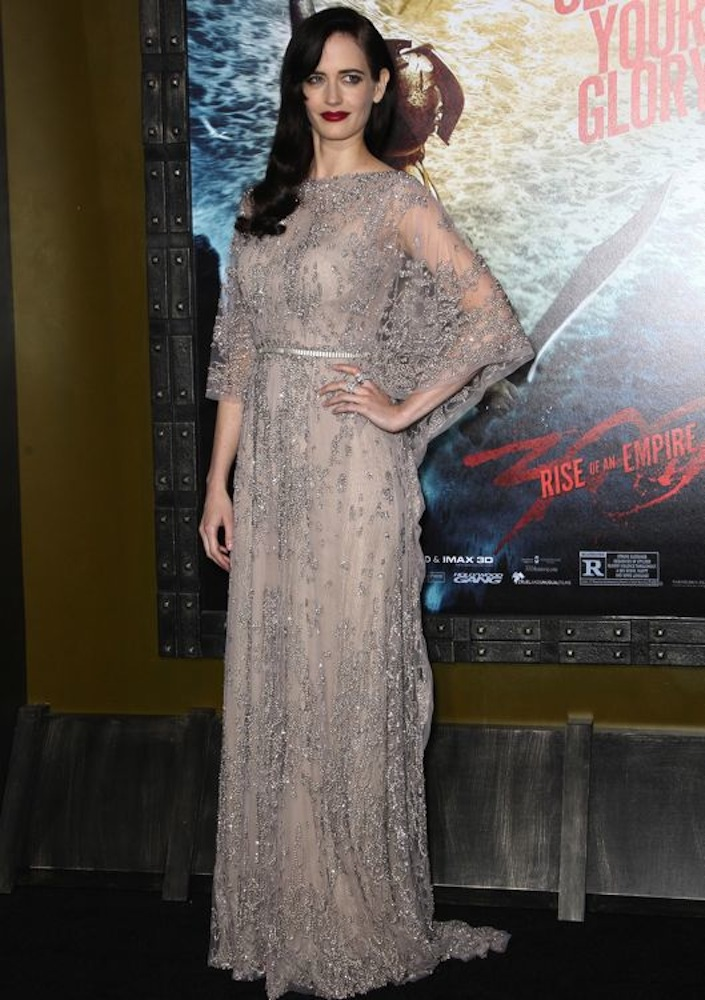 Eva Green at the Los Angeles Premiere of 300: Rise of an Empire