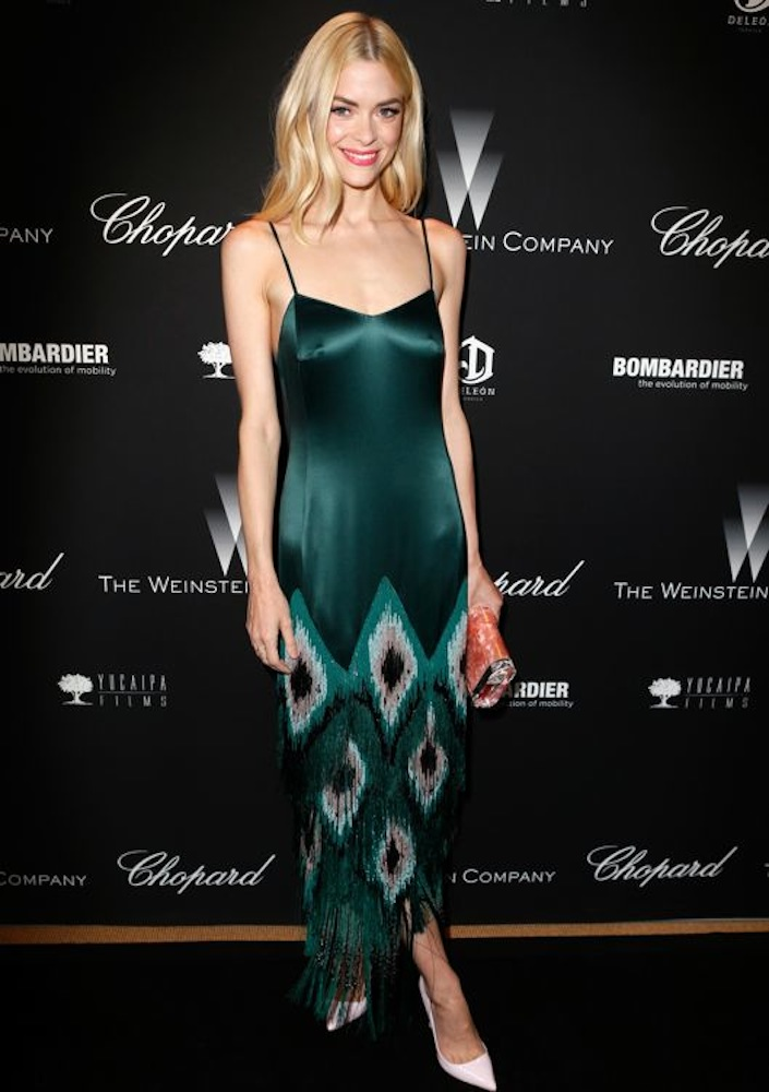 Jaime King at The Weinstein Company's Academy Award Party