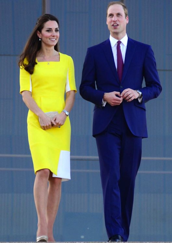 Catherine, Duchess of Cambridge Arriving at the Sydney Opera House