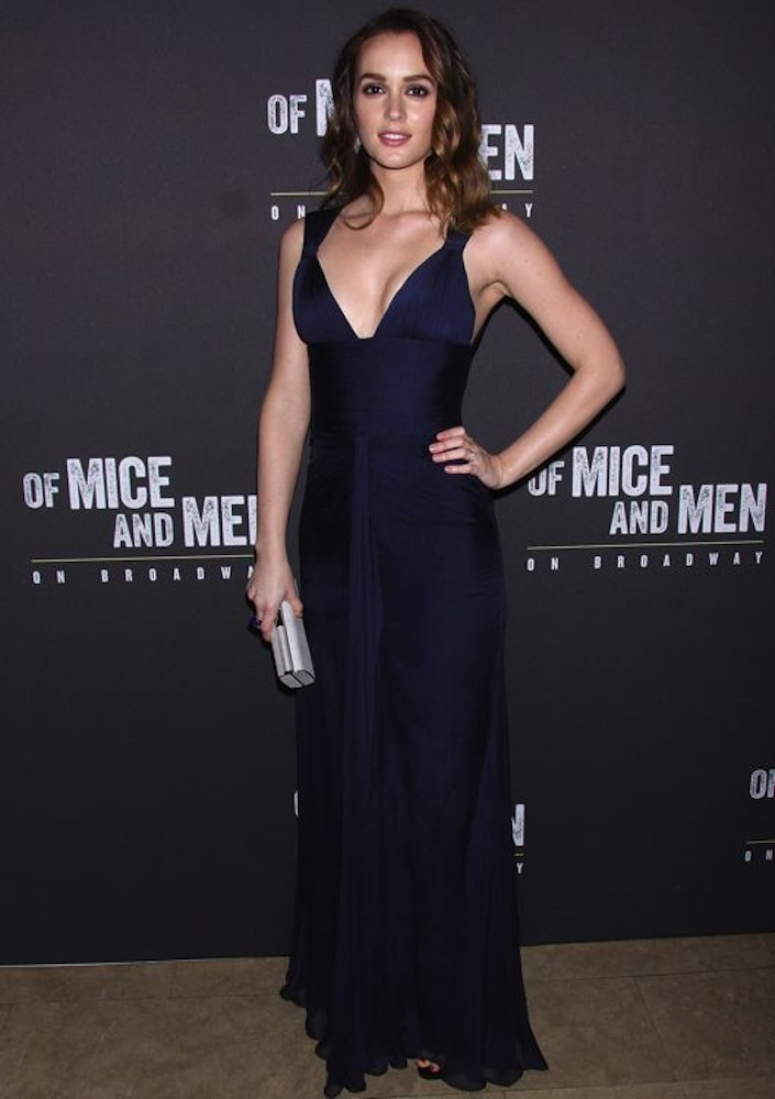 Leighton Meester at Of Mice and Men's Opening Night After-Party