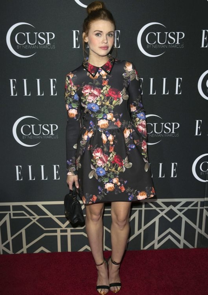 Holland Roden at the 2014 ELLE Women in Music Celebration