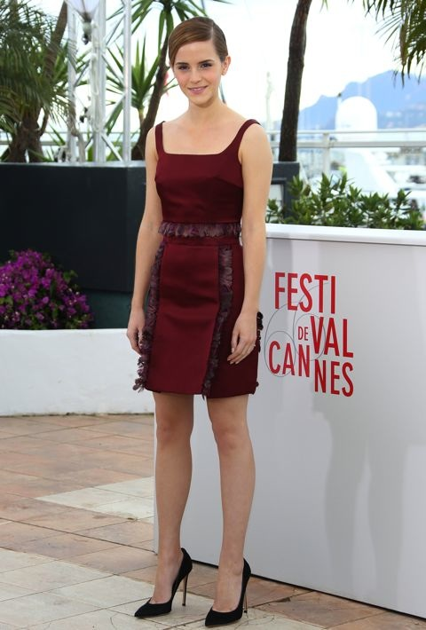 Emma Watson at the 66th Annual Cannes International Film Festival Photocall for The Bling Ring