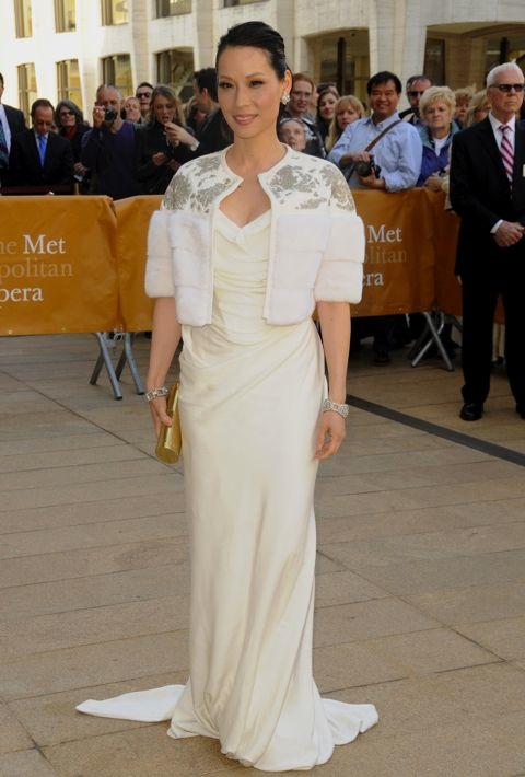Lucy Liu at the 2013 American Ballet Theatre Opening Night Spring Gala