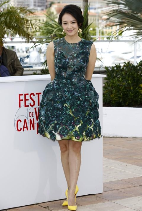 Zhang Ziyi at the 66th Annual Cannes International Film Festival Jury Photocall for Un Certain Regard