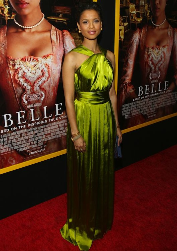 Gugu Mbatha-Raw at the New York Premiere of Belle