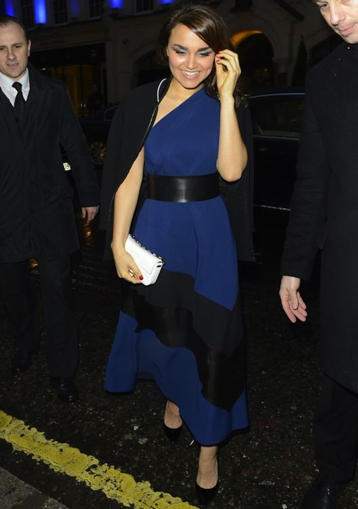 Samantha Barks at the Fendi Flagship Store Launch Party