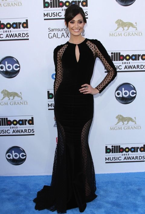 Emmy Rossum at the 2013 Billboard Music Awards