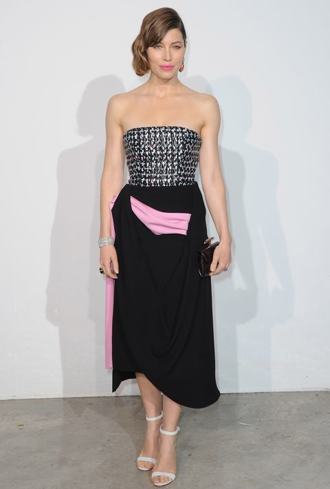 Jessica Biel at the Christian Dior Resort 2014 Presentation