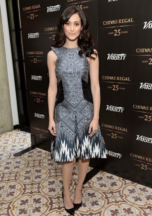 Emmy Rossum at the Variety Emmy Studio
