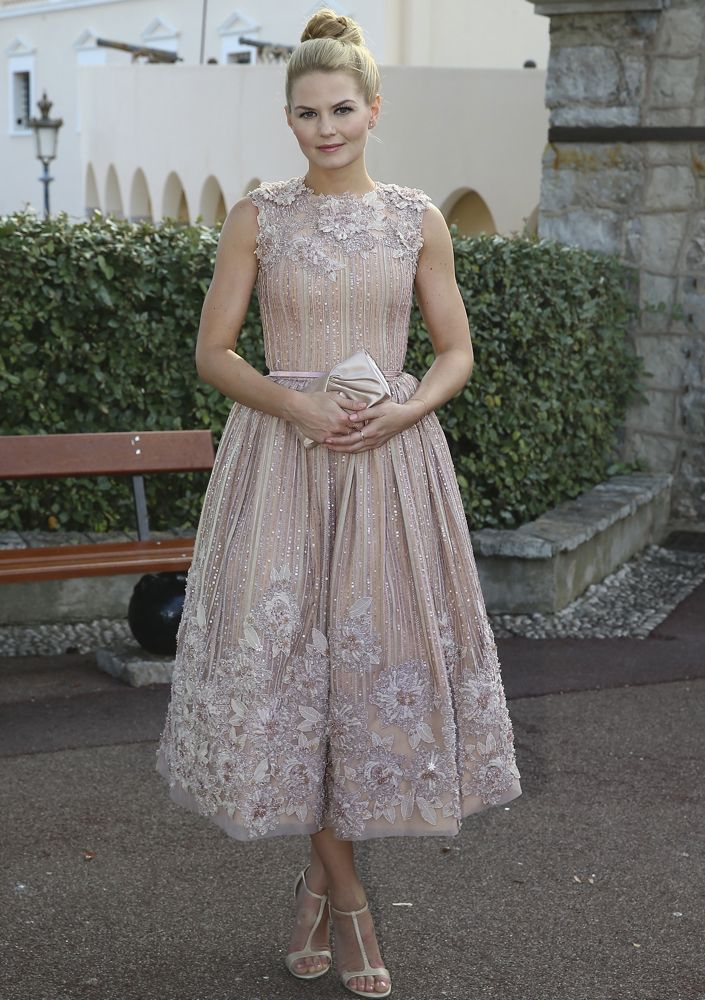 Jennifer Morrison at a Monaco Palace Cocktail Reception