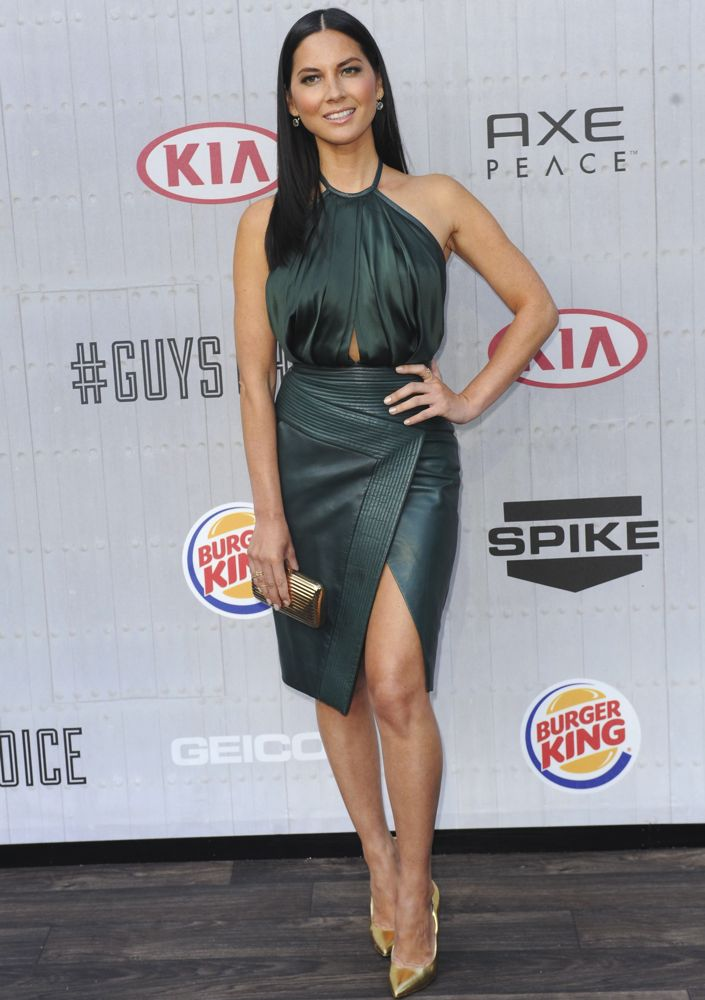 Olivia Munn at Spike TV's Guys Choice Awards 2014