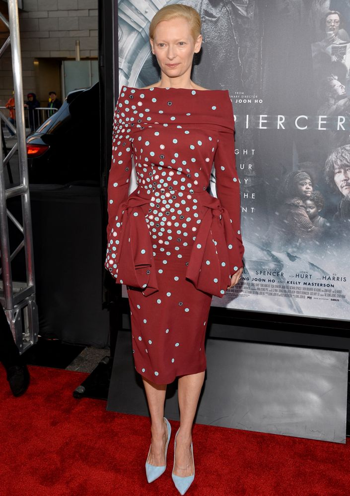 Tilda Swinton at the 2014 Los Angeles Film Festival Opening Night Premiere of Snowpiercer